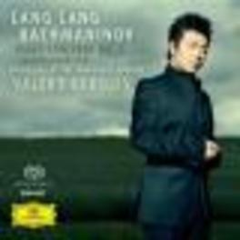 PIANO CONCERTO NO.2 ORCH.OF THE MARIINSKY THEATRE/LANG LANG/VALERY GERGIEV Super Audio CD, S. RACHMANINOV, CD