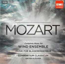 MUSIC FOR WIND INSTRUMENT CONSORTIUM CLASSICUM W.A. MOZART, CD