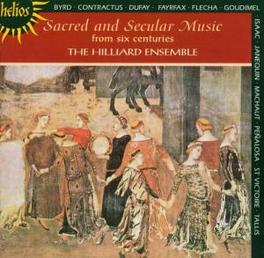 SACRED & SECULAR MUSIC WORKS BY BYRD/CONTRACTUS... Audio CD, HILLIARD ENSEMBLE, CD