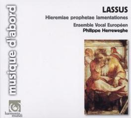 HIEREMIAE PROPHETAE HERREWEGHE, PHILIPPE/ENSEMBLE VOCAL Audio CD, O. DE LASSUS, CD