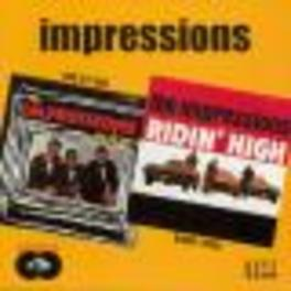 ONE BY ONE/RIDIN' HIGH 1965 + 1966 ALBUMS ON 1 CD Audio CD, IMPRESSIONS, CD