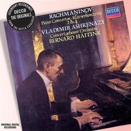 PIANO CONCERTO NO.2 & 4 CONCERTGEBOUW AMSTERDAM/HAITINK/VLADIMIR ASHKENAZY Audio CD, S. RACHMANINOV, CD
