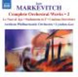 ORCHESTRAL WORKS VOL.2 ARNHEM P.O./LYNDON-GEE Audio CD, MARKEVITCH, CD