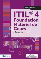 ITIL 4 Foundation Matériel...