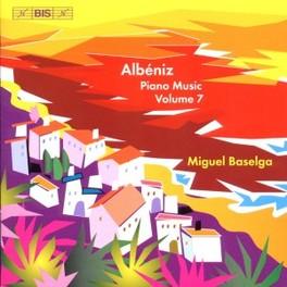 PIANO MUSIC VOL.7 MIGUEL BASELGA I. ALBENIZ, CD