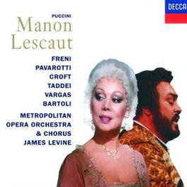 MANON LESCAUT W/BARTOLI, PAVAROTTI, JAMES LEVINE Audio CD, G. PUCCINI, CD