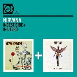 INCESTICIDE/IN UTERO 2 FOR 1 SERIE Audio CD, NIRVANA, CD
