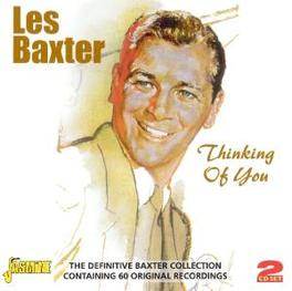 THINKING OF YOU THE DEFINITIVE BAXTER COLLECTION W/ 60 ORG RECORDINGS Audio CD, LES BAXTER, CD