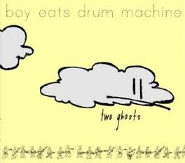 TWO GHOSTS '..A TREASURE CHEST OF INSTRUMENTATION..' BOY EATS DRUM MACHINE, CD