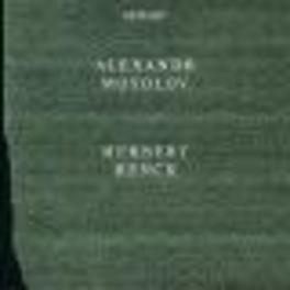PIANO SONATAS Audio CD, A. MOSSOLOW, CD
