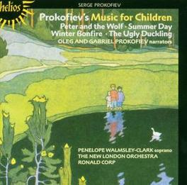 PROKOFIEV'S MUSIC FOR CHI NEW LONDON ORCHESTRA/PENELOPE WALMSLY-CLARK Audio CD, S. PROKOFIEV, CD