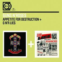 APPETITE FOR../G N'R LIES .. DESTRUCTION//2 FOR 1 SERIE Audio CD, GUNS N' ROSES, CD
