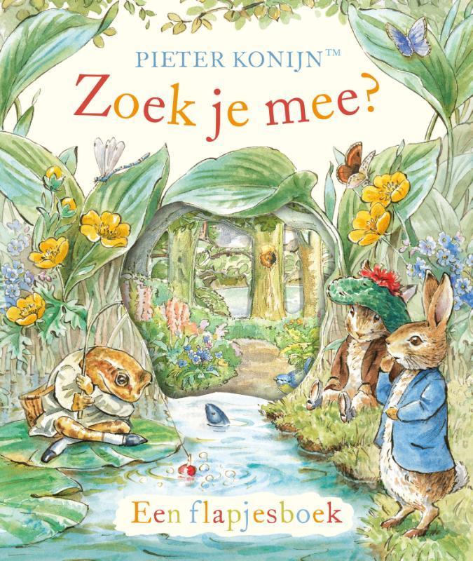 Pieter Konijn: Zoek je mee?. Een flapjesboek, Potter, Beatrix, Hardcover