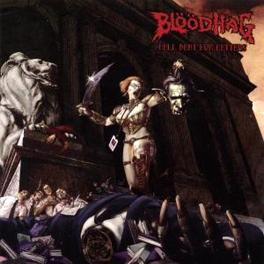 HELL BENT FOR LETTERS BLOODHAG, CD