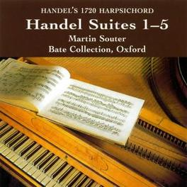 SUITES 1-5 MARTIN SOUTER/BATE COLLECTION, OXFORD Audio CD, G.F. HANDEL, CD