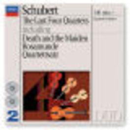 LAST FOUR QUARTETS W/QUARTETTO ITALIANO Audio CD, F. SCHUBERT, CD