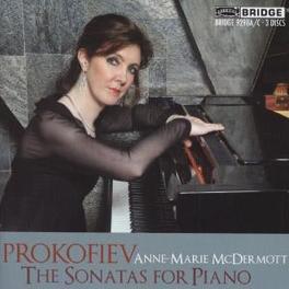 SONATAS FOR PIANO MCDERMOTT, ANNE-MARIE Audio CD, S. PROKOFIEV, CD