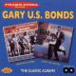 QUARTER TO 3/TWIST UP CAL 2 ON 1 // 24 TRAX NEW ORLEANS R&B Audio CD, GARY U.S. BONDS, CD