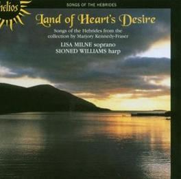 LAND OF HEART'S DESIRE Audio CD, MILNE/WILLIAMS, CD