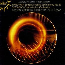 SINFONIA VOTIVA/CONCERTO BOSTON S.O./SEIJI OZAWA Audio CD, PANUFNIK/SESSIONS, CD