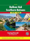 Zuid-Balkan Wegenatlas F&B