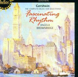 FASCINATING RHYTHM W/ANGELA BROWNRIDGE-PIANO Audio CD, G. GERSHWIN, CD