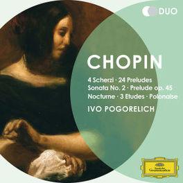 4 SCHERZI/24 PRELUDES.. IVO POGORELICH F. CHOPIN, CD