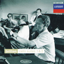 CELLOSUITE NO.1 OP.72 ROSTROPOVICH/BRITTEN Audio CD, B. BRITTEN, CD