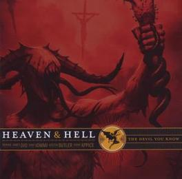 DEVIL YOU KNOW Audio CD, HEAVEN & HELL, CD