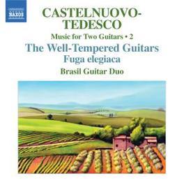TWO GUITARS VOL.2 BRASIL GUITAR DUO Audio CD, CASTELNUOVO-TEDESCO, T., CD