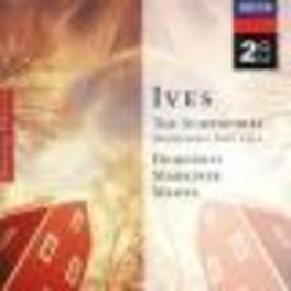 SYMPHONIES 1-4 LOS ANGELES PHILH.ORCH. ZUBIN MEHTA/DOHNANYI/MARRINER Audio CD, C. IVES, CD