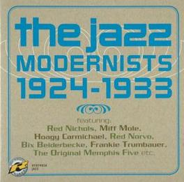 JAZZ MODERNISTS 1924-33 W/FRANKIE TRUMBAUER/RED NICHOLS/RED NORVO/A.O. Audio CD, V/A, CD