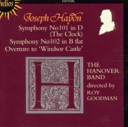SYMPHONIES NO.101 & 102 THE HANOVER BAND Audio CD, J. HAYDN, CD