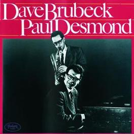 DAVE BRUBECK/PAUL DESMOND -2 RECORD SET ON 1 CD- Audio CD, DAVE/PAUL DESMON BRUBECK, CD