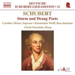 STURM & DRANG DICHTER ELZER, CAROLINE/WOLFF, KONSTANTIN/ Audio CD, F. SCHUBERT, CD
