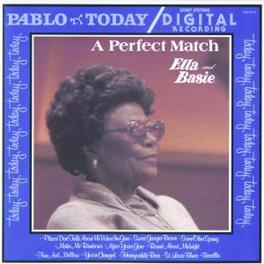 A PERFECT MATCH W/COUNT BASIE Audio CD, ELLA FITZGERALD, CD