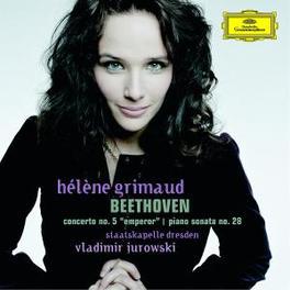 PIANO CONCERTO NO.5 STAATSKAPELLE DRESDEN/VLADIMIR JUROWSKI/HELENE GRIMAUD Audio CD, L. VAN BEETHOVEN, CD