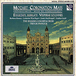 KROENUNGSMESSE BONNEY ENGLISH CONCERT & CHOIR PINNOCK Audio CD, W.A. MOZART, CD