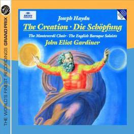 DIE SCHOPFUNG ENGLISH BAROQUE SOLOISTS, MONTEVERDI CHOIR/GARDINER Audio CD, J. HAYDN, CD