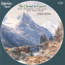 CLARINET IN CONCERT W/LONDON SYM. ORCHESTRA, E.C.O. Audio CD, THEA KING, CD