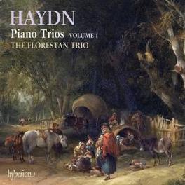 PIANO TRIOS VOL.1 FLORESTAN TRIO Audio CD, J. HAYDN, CD