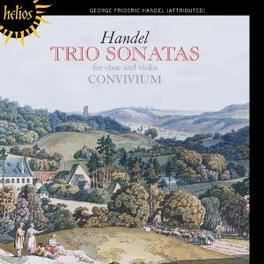 TRIO SONATES FOR OBOE & V CONVIVIUM Audio CD, G.F. HANDEL, CD
