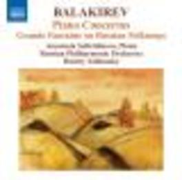 PIANO CONCERTOS RUSSIAN P.O./DMITRY YABLONSKY Audio CD, A. BALAKIREV, CD