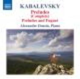 PRELUDES ALEZANDRE DOSSIN Audio CD, KABALEVSKY, CD