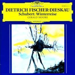 DIE WINTERREISE W/DIETRICH FISCHER-DIESKAU/MOORE-PIANO Audio CD, F. SCHUBERT, CD