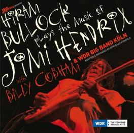 PLAYS THE MUSIC OF.. -HQ- .. JIMI HENDRIX  // WITH WDR BIGBAND // 180GR. HIRAM BULLOCK, Vinyl LP