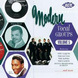 MODERN VOCAL GROUPS 5 24 CLASSICS W/CADETS/JESSE BELVIN/HAWKS Audio CD, V/A, CD