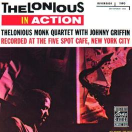 THELONIOUS IN ACTION Audio CD, MONK, THELONIOUS -QUARTET, CD