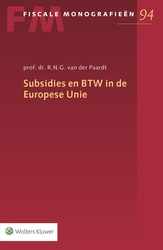 Subsidies en BTW in de...
