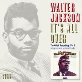 IT'S ALL OVER Audio CD, WALTER JACKSON, CD